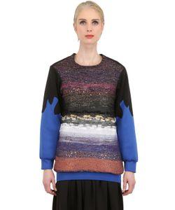 NATARGEORGIOU | Neoprene And Lurex Sweater