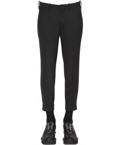 Neil Barrett | Zip Cuffs Wool Blend Gabardine Pants