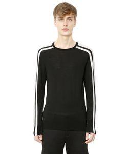 Neil Barrett | Striped Merino Wool Sweater