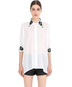 NENA RISTICH | Embellished Silk Shirt