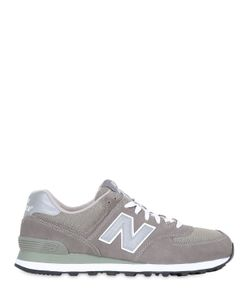 New Balance | 574 Mesh Suede Sneakers