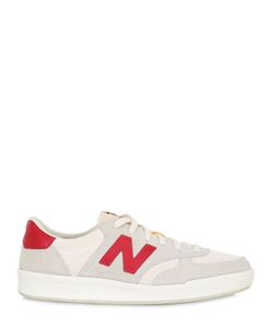 New Balance | 300 Suede Mesh Sneakers
