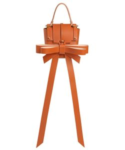 NIELS PEERAER | Small 3pm Big Ribbon Leather Bag