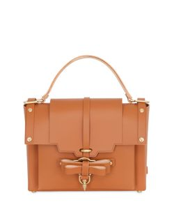 NIELS PEERAER | Medium Bow Buckle Leather Top Handle Bag
