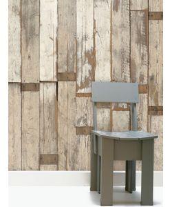 NLXL | Scrapwood Wallpaper By Piet Hein Eek