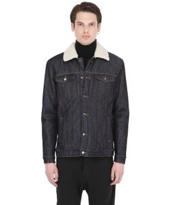 Numero 00 | Faux Shearling Lined Cotton Denim Jacket