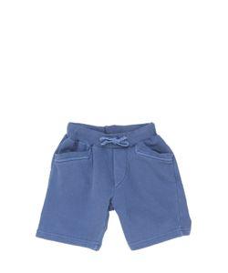 NUPKEET | Stone Wash Cotton Jogging Shorts