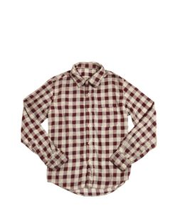 NUPKEET | Vintage Effect Cotton Flannel Shirt