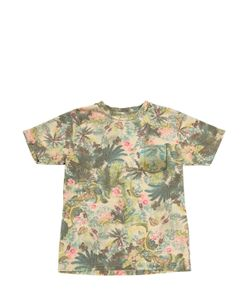 NUPKEET | Jungle Printed Cotton T-Shirt