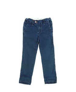 NUPKEET | Slim Fit Washed Cotton Canvas Pants