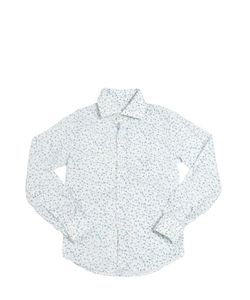 NUPKEET | Floral Printed Cotton Poplin Shirt