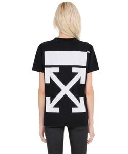 Off White | Arrow Printed Cotton Jersey T-Shirt