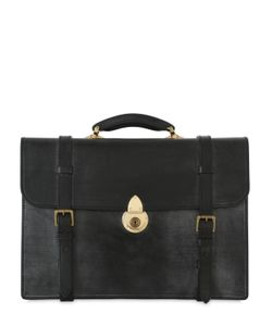 OHBA | Bridle Leather Business Briefcase