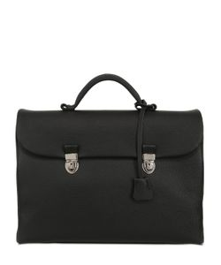 OHBA | Soft Leather Briefcase