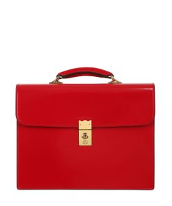 OHBA | Cordovan Leather Briefcase