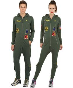 Onepiece | Aviator Cotton French Terry Jumpsuit