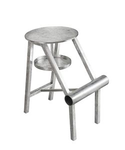 OPINION CIATTI | Metal Leaf Shoe Stool
