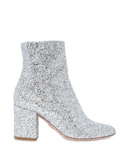 Oscar Tiye | 80mm Nicole Glittered Ankle Boots