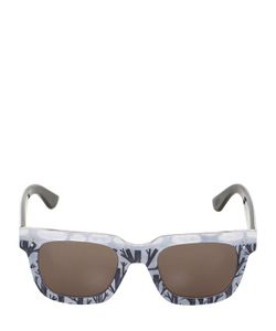 Oxydo | Squared Printed Acetate Sunglasses