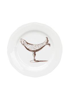 PAMPALONI | Fish Bichierografia Dinner Plate