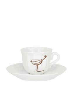 PAMPALONI | Fruit Bichierografia Coffee Cup Saucer