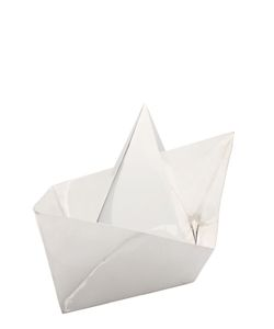 PAOLA C. | Paper Boat Bowl With Lid