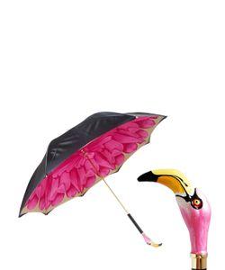 Pasotti | Resin Flamingo Printed Umbrella