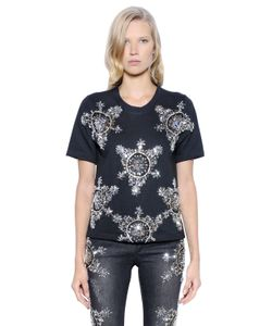 PAT BO | Embellished Heavy Jersey Top
