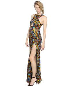 PAT BO | Embellished Chiffon Dress With Cutout
