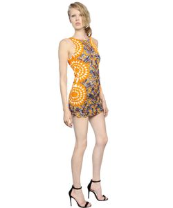 PAT BO | Embellished Organza Open Back Dress