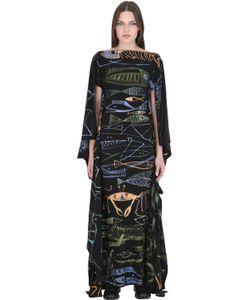 PATRICIA FIELD ART FASHION   Jody Morlock Hand-Painted Fish Gown