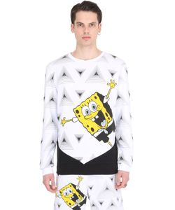 PATRICK LOVES SPONGEBOB BY PM | Happy Spongebob Cotton Sweatshirt