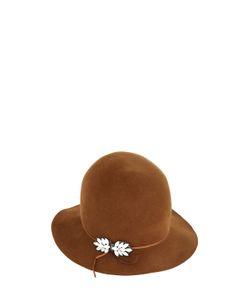 PATRIZIA FABRI | Embellished Lapin Fur Felt Hat