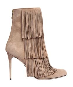 Paul Andrew | 95mm Taos Fringed Suede Boots