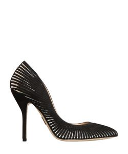 Paul Andrew | 105mm Colombus Mirror Cutout Suede Pumps