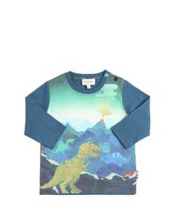 Paul Smith Junior | Dinosaurs Print Cotton Jersey T-Shirt