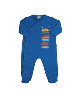 Paul Smith Junior | Burger Print Cotton Interlock Romper