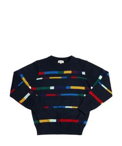 Paul Smith Junior | Striped Cotton Cashmere Sweater