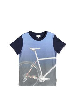 Paul Smith Junior | Bicycle Printed Cotton Jersey T-Shirt