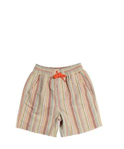 Paul Smith Junior | Striped Nylon Swimming Shorts