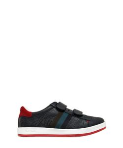 Paul Smith Junior | Leather Sneakers W/ Suede Details