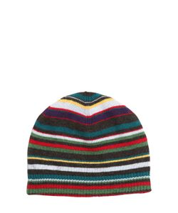 Paul Smith Junior | Striped Double Wool Cashmere Hat