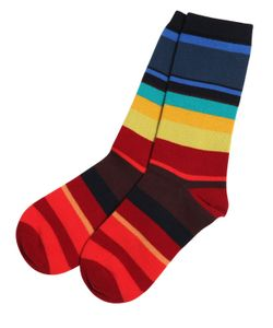 Paul Smith Junior | Striped Knit Cotton Socks