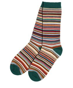 Paul Smith Junior | Striped Knitted Cotton Socks
