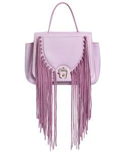 Paula Cademartori | Abela Fringed Leather Shoulder Bag