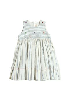 Péro | Handmade Beaded Cotton Muslin Dress