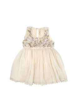 Péro | Handmade Embellished Silk Voile Dress