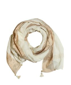 Péro | Cotton Gauze Scarf With Tassels