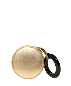 PERRIN PARIS | Laminated Leather Wrist Clutch