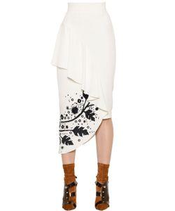Peter Pilotto   Printed Cady Pencil Skirt